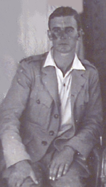 Pilot, Palestine, July 1918